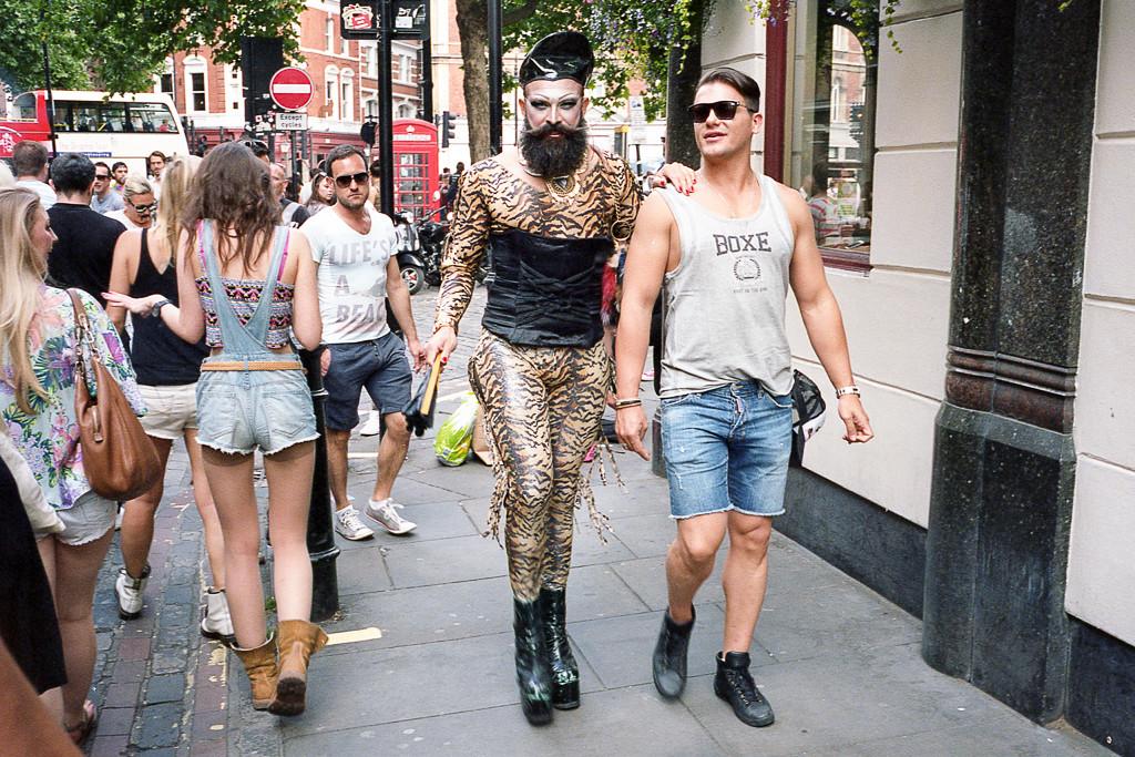 Pride in London, Soho, London