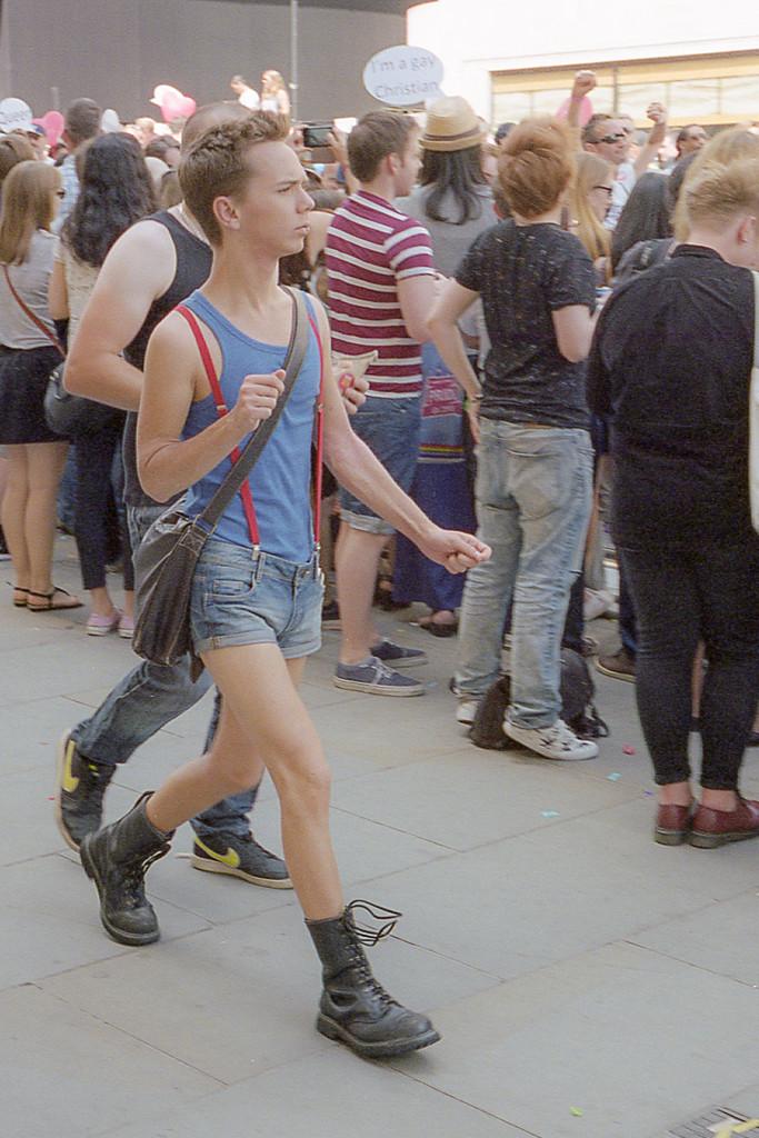 Pride in London, Regent Street, London