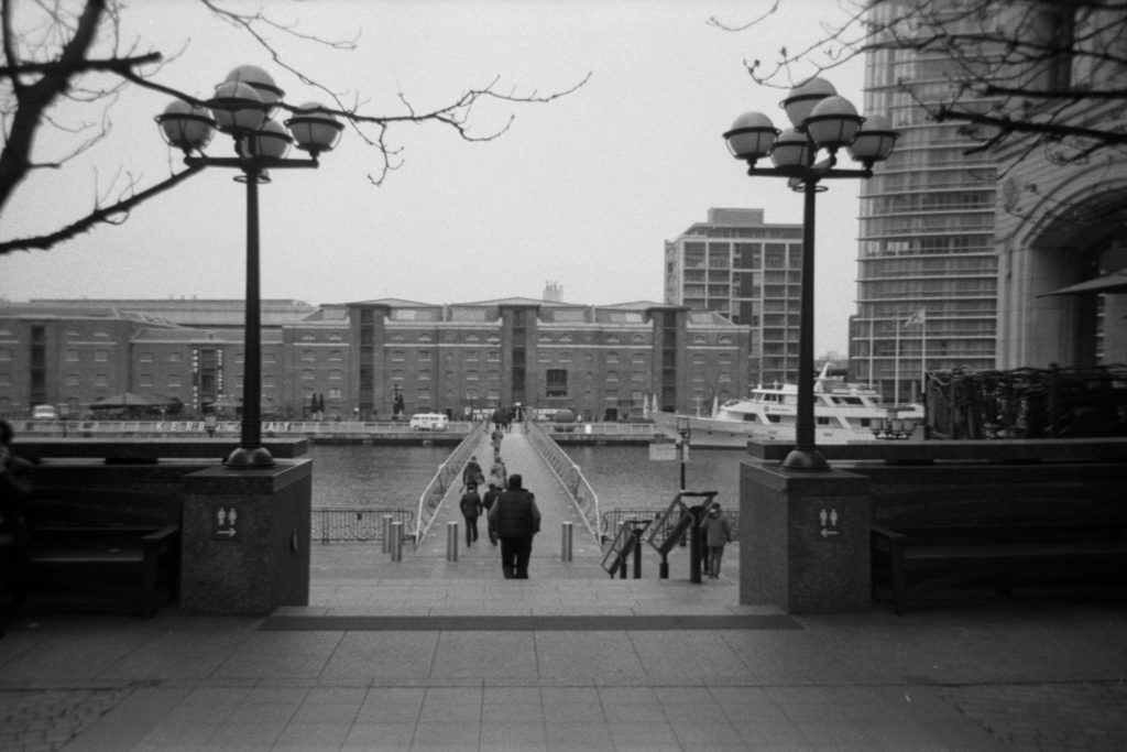 Ilford HP5 Single Use Camera, London
