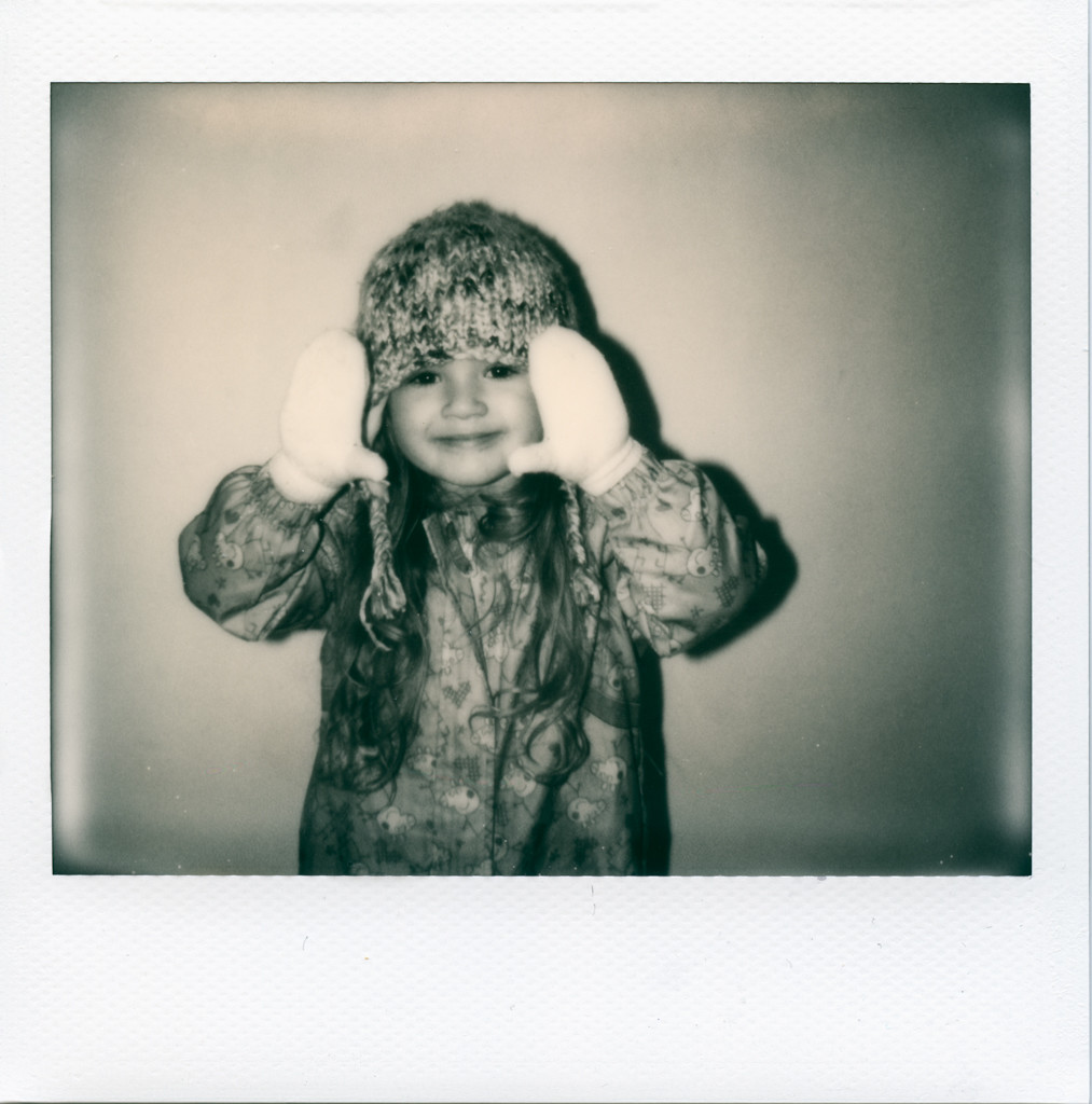 Impossible B&W, Polaroid Spectra SE